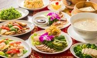 鮑や北京ダックなど、豪華な本格中華が一堂に≪鮑のオイスター煮込みなど全10品+1ドリンク / 他1メニュー≫ @上海食苑本店