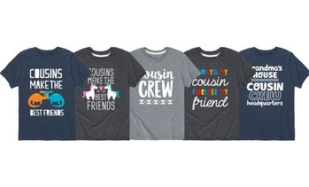 Kids' Cousin Crew and Cousin Tees