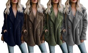 Manteau femme doux polaire Tica