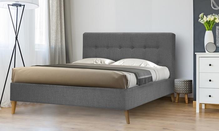 lit scandinave avecsans matelas - Lit Scandinave