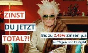 WeltSparen: Bis zu 2,45% Zinsen p. a. + Willkommensprämie + 40 € Amazon.de Gutschein für Fest-, Tages- oder Flexgeld bei WeltSparen