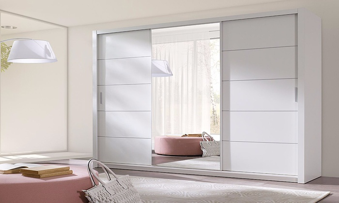 Ordu Sliding Door Wardrobe Sets In Choice of Colour
