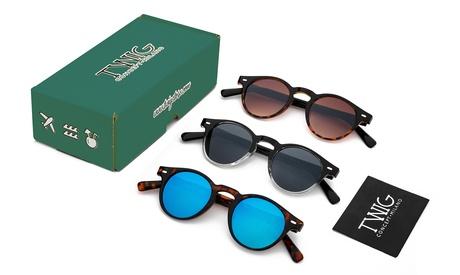 Paquete de 3 gafas de sol Twig Concept Milano (envío gratuito)