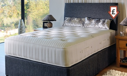 Natural Kensington 4000 Silver Pocket Sprung Mattress