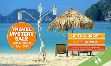 ✈ Phuket and Phi Phi Island: From $1,099 Per Person for 8 Nights with Flights and Massage