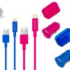 Apple-Certified Lightning Charger Kit for iPhone and iPod (3-Piece)