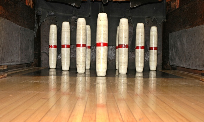 Shooters Sports Pub & Exeter Bowling Lanes - Exeter Bowling Lanes: Candlepin Bowling at Shooters Sports Pub & Exeter Bowling Lanes (Up to 58% Off). Four Options Available.