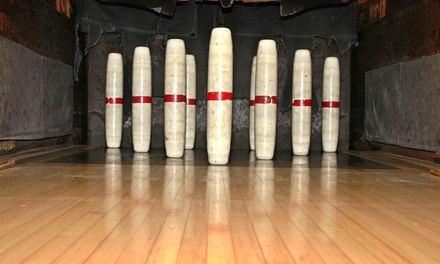 Candlepin Bowling at Shooters Sports Pub & Exeter Bowling Lanes (Up to 58% Off). Four Options Available.