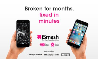 iPhone Screen Replacement for a Range of Models at iSmash (30% Off)