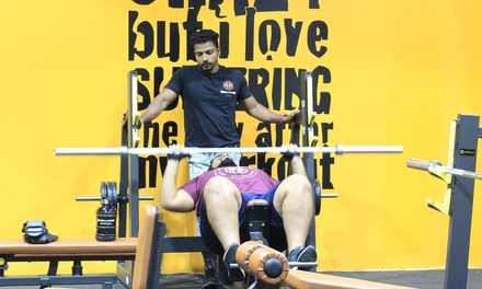 Daily Gym Pass or Up to One Year Gym Membership at Muscle House Gym (50% Off)