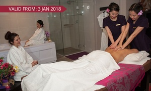Nice Relaxing Thai Massage And Spa: 110-Minute Pamper Package for One ($99) or Two People ($197) at Nice Relaxing Thai Massage and Spa (Up to $378 Value)