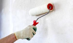 CM Multiservizi: Imbiancatura fino a 150 m² con pareti colorate e soffitto da Cm Multiservizi (sconto fino a 88%). Valido in 2 sedi