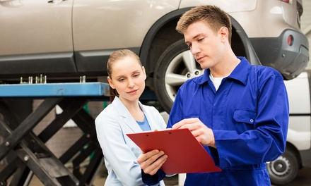 54-Point Car Service with Oil and Filter Change and A/C Re-Gas or Wheel Alignment at KAM Servicing - Ambergate (69% Off)