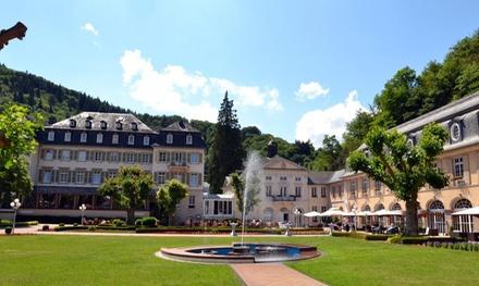 Moselle : chambre double Economique avec pdj, dîner et bien-être pour 2 personnes au Parkhotel Bad Bertrich