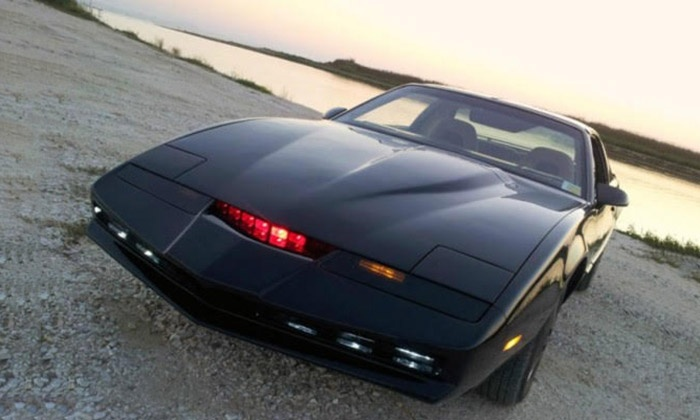Car Chase Heroes Ltd - Multiple Locations: Three, Six or Nine Laps in 'Kitt' from Knightrider Pontiac Firebird with Car Chase Heroes (Up to 71% Off)