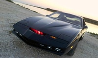 Three, Six or Nine Laps in Kitt from Knightrider Pontiac Firebird with Car Chase Heroes (Up to 71% Off)