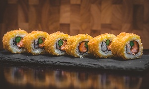 Wakaiido Sushi-Kitchen-Lounge: Japanisches All-you-can-eat-Lunch oder -Dinner für 2 oder 4 Pers. bei Wakaiido Sushi-Kitchen-Lounge (bis zu 41% sparen*)