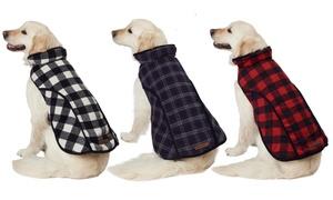 Eddie Bauer Plaid Dog Jackets
