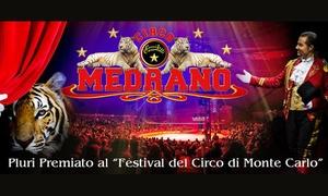 Circo Medrano ad Alessandria: Circo Medrano dal 9 al 14 novembre ad Alessandria (sconto fino a 67%)