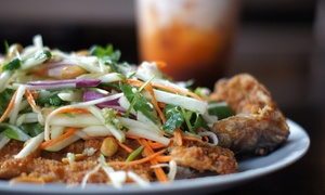 Ti 22: Contemporary Thai Food at Ti 22 (40% Off). Two Options Available.