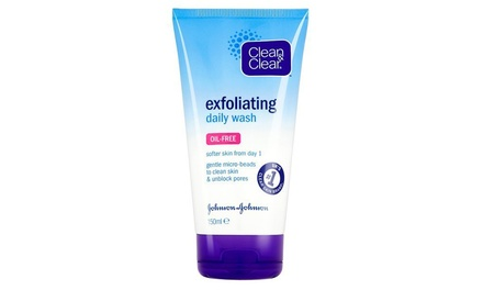 One (£2.99) or Two (£5.99) Tubes of Clean and Clear Exfoliating Daily Wash (70% Off)