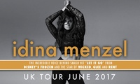Idina Menzel, 14–19 June, Five Locations (Up to 40% Off)
