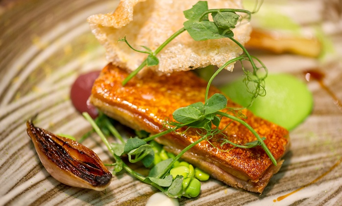 Michelin Starred Ten-Course Tasting Menu for One or Two at Pied a Terre, Fitzrovia (33% Off)