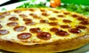 Grand Pizza Restaurant - Las Vegas: Italian Cuisine, or One or Two-Pizza Package at Grand Pizza Restaurant (Up to 45% Off). Three Options Available.