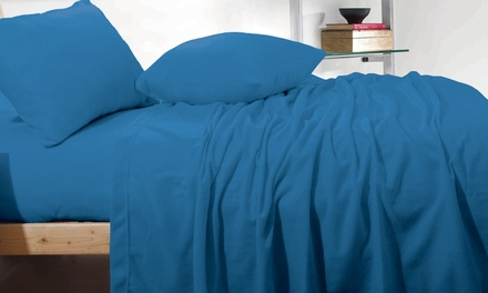 for a CashmereTouch Polar Fleece Flannelette Sheet Set Don't Pay up to $159