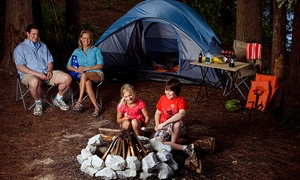 Camping: Stone Mountain Park: Two-Night Campground Rental or Camping Stay at Stone Mountain Park (Up to 29% Off). Two Options Available.