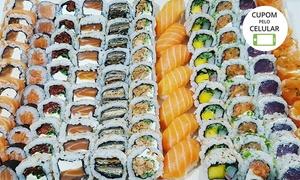 Gattai Sushi: Rodízio japonês para 1, 2 ou 4 pessoas no Gattai Sushi – Porto da Lagoa
