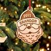 Choix entre 20 pendentifs en bois pour arbre de Noël
