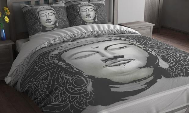 parure de lit boudha groupon shopping. Black Bedroom Furniture Sets. Home Design Ideas