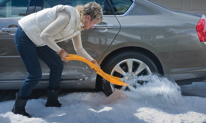 True Temper Autoboss Snow Shovel and Traction Aid Combo Kit: True Temper Autoboss Snow Shovel and Traction Aid Combo Kit. Free Returns.