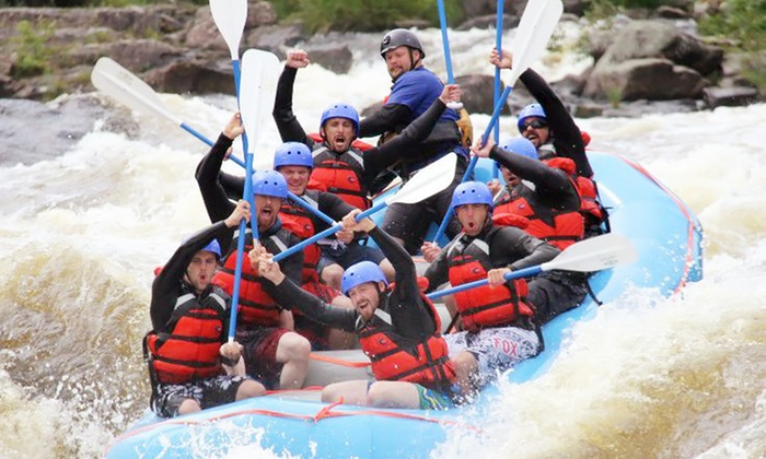 Maine Rafting Expeditions - Maine Rafting Expeditions: Whitewater Rafting for Two, Four, or Six from Maine Rafting Expeditions (Up to 38% Off)