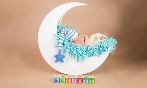 Shutter Hire: Newborn Photoshoot With Prints for £9.95 at Shutter Hire (Up to 94% Off)