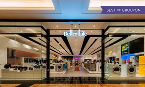 Better Life: 30% Discount Toward Small Appliances, Air Purifiers and Telecom at Better Life, Five Locations