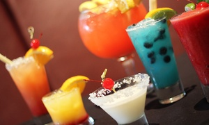 Rum Drinks and Small Plates at Sugarcanes Rum Bar & Lounge (Up to 47% Off). Two Options Available.