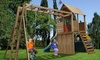 Modest Group of Companies: Solid Wood Climbing Frames, Slides and Swings from AED 2999