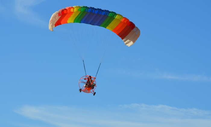 Inland Paraflite - Victorville: 15- or 30-Minute Introductory Paraplane Flight at Inland Paraflite (Up to 54% Off)