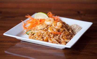 image for $14 for $25 Towards Thai and Lao Dinner Menu for Two at Sunee's Thai Restaurant
