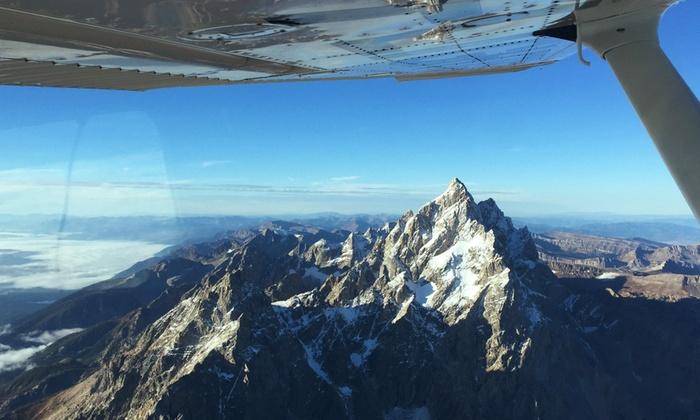 Bluebird Aviation - Bluebird Aviation: $169 for a Private Mountain Tour Flight for Up to Three at Bluebird Aviation ($199Value)