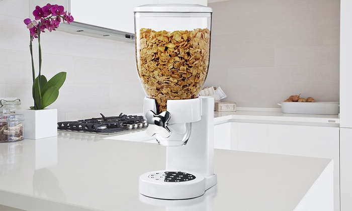 Single or double cereal dispenser groupon single or double cereal dispenser ccuart Image collections