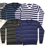 Clearance: Mens Striped Sweaters
