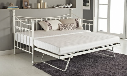versailles metal french day bett und ausziehbett. Black Bedroom Furniture Sets. Home Design Ideas
