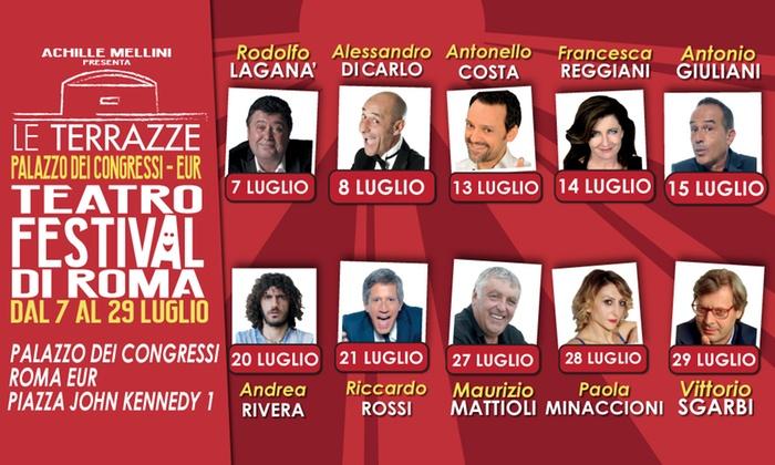 Le Terrazze Teatro Festival Roma