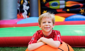 Four- or Six-Visit Punch Card at Hoot's Ultimate Party Zone (Up to 44% Off)
