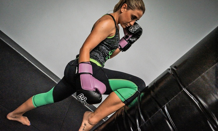 KickForce Martial Arts - San Diego: 10 or 20 Women's Fitness Classes at KickForce Martial Arts (Up to 88% Off)