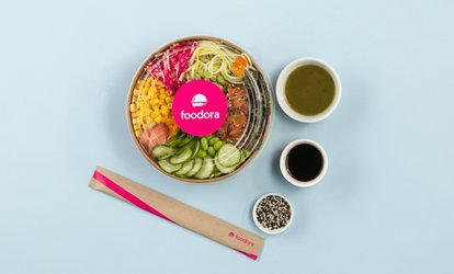 C$10 for C$15 Value Towards Food Delivery from foodora