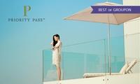 Bis zu 50% Rabatt auf die Mitgliedschaft bei Priority Pass für den Zugang zu weltweit über 1000 Lounges in Flughäfen
